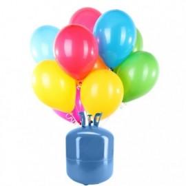 Bouteille Hélium Mini avec 30 Ballons Pastel
