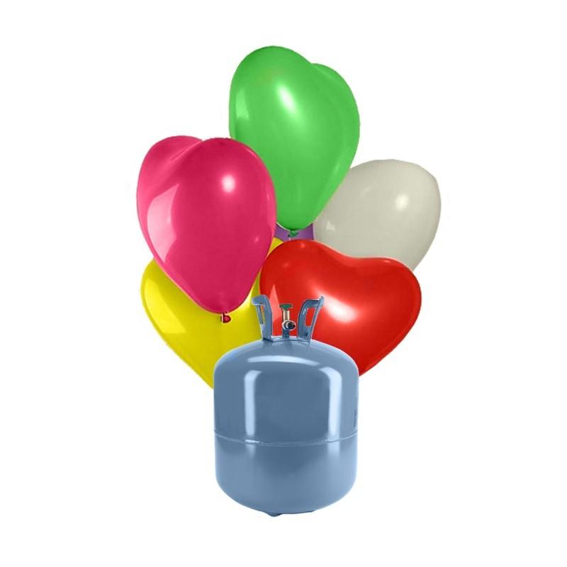 bonbonne helium pour ballon jetable