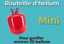 Bonbonne helium pour ballon